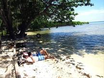 Bersantai di Pulau Biawak.