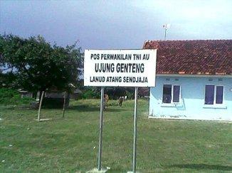 Pos perwakilan TNI AU.