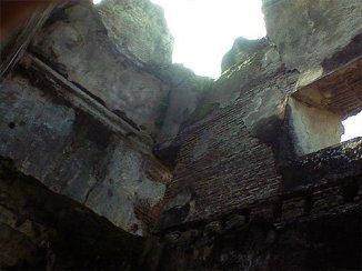 Pulo Kenanga yang rusak akibat gempa.