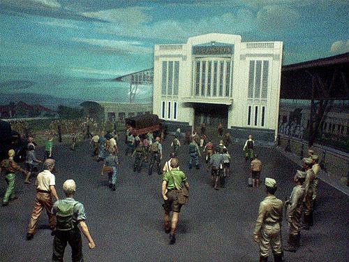 Diorama yang dipamerkan dalam Museum Benteng Vredeburg
