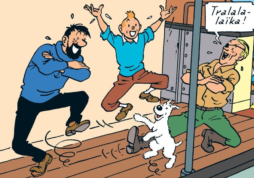 Tintin in the Land of Soviets